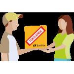 3. Kami akan mengatur pengantaran produk kepada customer anda atas nama pengirim